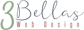 3Bellas Web Design Logo